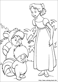 Small Picture Coloring Page Peter Pan Pages For Kids Printable 101 To Print Free