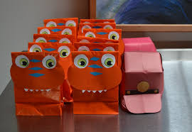 diy dinosaur train favor bags