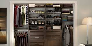 build wood closet organizers