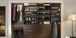 build wood closet organizers