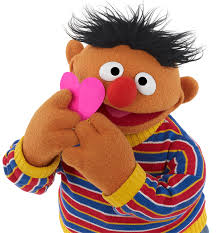 Ross, who sported a stylish neon turtleneck, said she'd been spending her days knitting and walking on the treadmill. Happy Valentine S Day Sesame Street Sesame Street Muppets Sesame Street Muppets