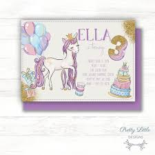 birthday invitation gold glitter unicorn glitter balloons birthday invitation template diy printing