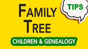Gc 055 Genealogy And Children Fill Out A Family Tree With Your Children Genealogy Clips