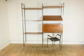 vintage retro staples ladderax home office suite bureau shelves chair vinterior