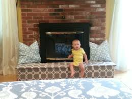 baby proofing fireplace easy to do 1 sheet of plywood cut into 4 pieces