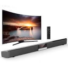 Loa soundbar tivi 3D âm thanh nổi kết nối không dây SR100 (bluetooth)
