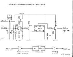 electronic cruise control topic Allison Md 3060 Wiring Diagram still have to draw the schematic for the switch control interface, the control switches on the barth are not compatible with the gm cruise unit, allison md3060 wiring diagram
