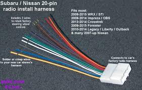 wiring diagram 2016 subaru impreza stereo wiring diagram 20 pin subaru outback radio wiring diagram at Subaru Car Stereo Wiring Diagram