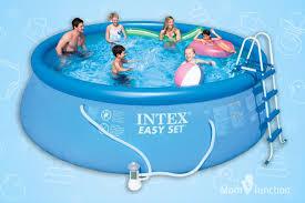 pools for kids. Beautiful Kids Swimming Pools For Kids  Intex Easy Set Pool On MomJunction
