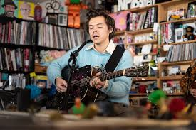 Not a plattform to promote other artists or spam, only tdc will be approved. Harry Styles Brings Some Watermelon Sugar To Npr S Tiny Desk Concert People Com