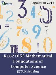 Mathematical Foundations Of Computer Science Syllabus
