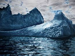 zaria forman creates pastel drawings of endangered landscapes from greenland and antarctica to the