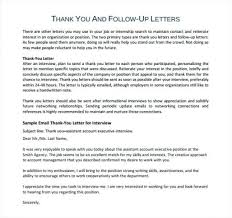 22 Thank You Letter For Job Interview Appointment Practicable