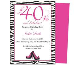 Invitation For Party Template Gorgeous 48th Birthday Invites Fabulous 48th Birthday Invitation Party