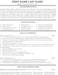 Outside Sales Resume Template Extraordinary Sale Representative Resume Sample Sales Representative Resume Sale
