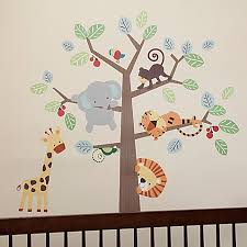 image of Lambs & Ivy Treetop Buddies Wall Decals (Set of ...
