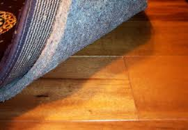 you also have to determine how thick your rug pad will be this can be done by checking both your floors and rugs usually the height of rug pads range