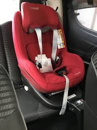 maxi cosi 2way pearl red car seat 2way isofix base manuals receipts