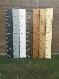 Personalized Wooden Growth Chart Custom Personalized Wooden Growth Chart Ruler Custom Growth