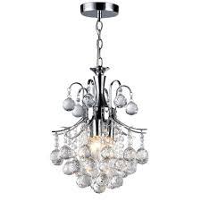 Arden Victorian 3 Light Crystal Chrome Chandelier Warehouse Of Tiffany Arden Victorian 3 Light Crystal Chrome Chandelier With Shade
