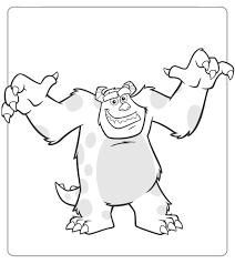 Monsters En Co Vind En Print Bliksemsnel Een Kleurplaat Ukkonl
