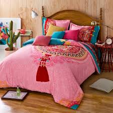unsurpassed boho bedding sets twin full queen size 100 cotton bohemian style