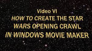 star trek powerpoint template how to create the star wars opening crawl in windows movie maker