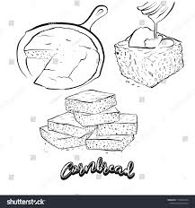 Image result for cornbread clip art vintage