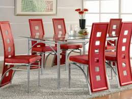 bring a modern touch into your kitchen or dining room with this los feliz red modern