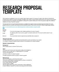 Proposal Templates Free Microsoft Word Fascinating Research Proposal Template Word Pcccus