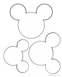mirror template for kids. diy: mickey garland decoration - our homemade life mirror template for kids