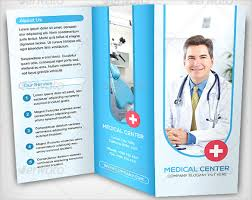 Medical Brochure Template Adorable Medical Office Brochure Templates Csoforum