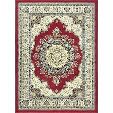 red and tan rug brown area rugs 8 x large beige sensation machine made oriental