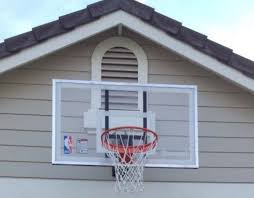 spalding 54 inch wall mount basketball