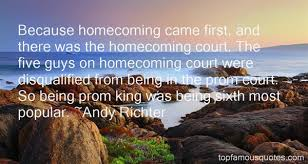 Homecoming Quotes: best 42 quotes about Homecoming via Relatably.com