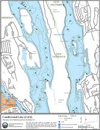 Candlewood Lake Map Northeastbass