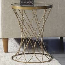 round metal end tables metal round accent table best coffee table rowan od outdoor round