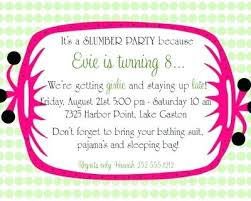 How To Make A Sleepover Invitation Sleepover Party Invitation Wording Slumber Party Invitation Wording