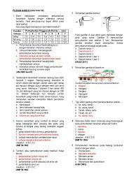 Pilihan a jika jawaban terdapat pada pernyataan nomor (1); Latihan Soal Soal Pertumbuhan Dan Perkembangan Kelas Xii Sma