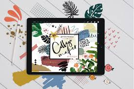 Example Of A Collage Collage Maker Stamp Brushes For Procreate