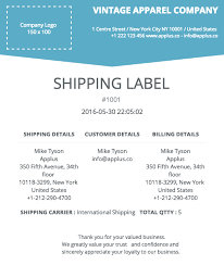 shipping info template softify premium shopify apps easy invoice