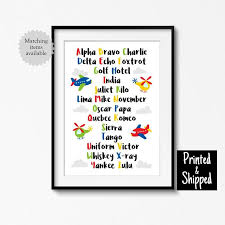 Are you looking for the ultimate phonetic alphabet gifts for aviation lovers? Airplane Alphabet Print Cute Phonetic Planes Helicopter Flying Nursery Art Kids Room Playroom Bedroom Wall Poster 8x10 11x14 A3 A4 30x40 Alphabet Print Big Kid Bedroom Nursery Art