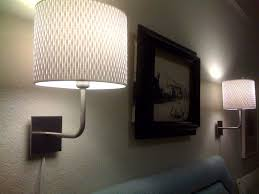 image of plug in wall sconce ikea