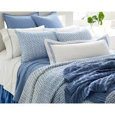 blue quilt bedding. Perfect Quilt Tyler French Blue Quilted Bedding Design By Pine Cone Hill Intended Quilt 3