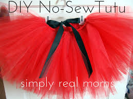 adorable diy no sew tutu 1