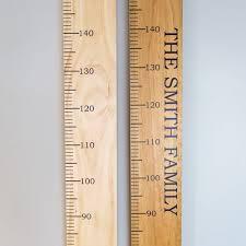 Wooden Height Chart Wooden Height Chart