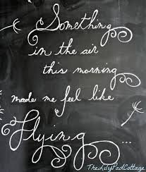 There's no right or wrong way to do chalkboard art. It's supposed to be  fun, don't stress over whether it's perfect or not. After all, if you are  like me, ...