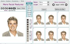 Virtual Hairstyle 35 Awesome Men's Virtual Hairstyle Makeovers Online Tool