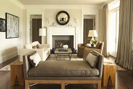 a gray beige color called revere pewter cools the bright light coming through the big