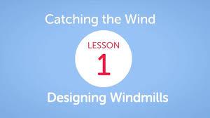 Designing Windmills Eie Catching The Wind Designing Windmills Lesson 1 In Cincinnati Oh